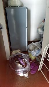 高松市内でベッド、布団など回収ビフォー写真2