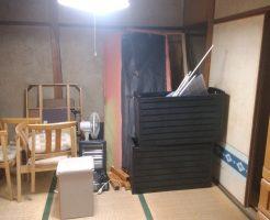 高松市屋島西町で冷蔵庫、扇風機など2トントラック2台程度の不用品回収 施工事例紹介