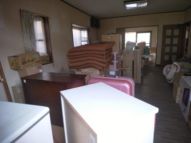 物置部屋となってしまっていたお部屋の不用品をまとめて回収☆広々としたお部屋が復活しました!