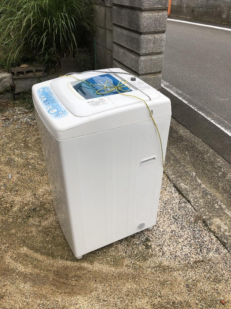 【三重県明和町】不用品(洗濯機)処分ご依頼 お客様の声