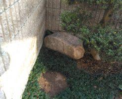 【高松市香川町】庭石の撤去☆処分ができずに困っていたお客様にご満足いただけました!