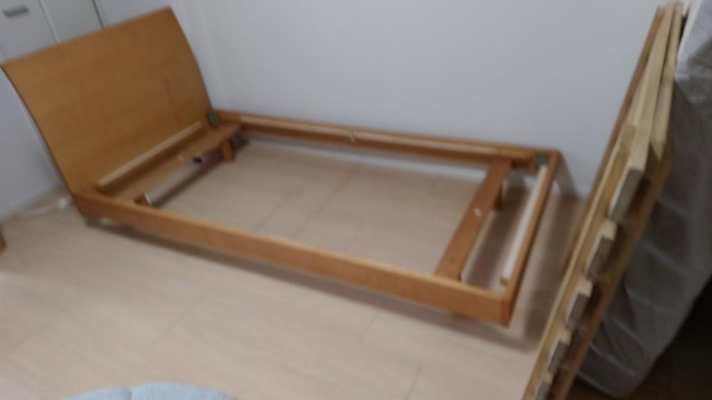 【鮭川村】シングルベッドのフレーム回収ご依頼 お客様の声