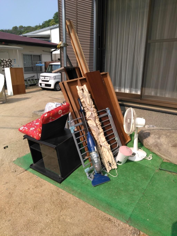 【観音寺市大野原町】自動車タイヤ、ベッドなどの回収・処分ご依頼
