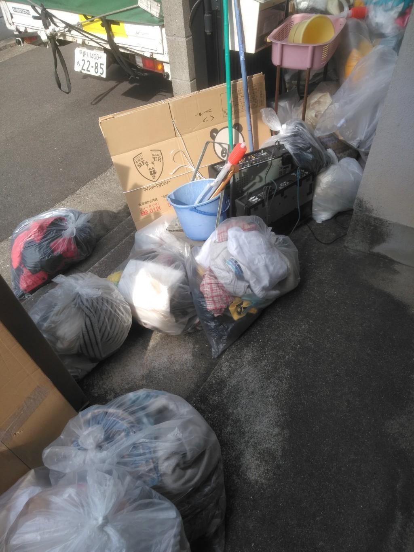 【観音寺市】軽トラック1台分の出張不用品回収・処分ご依頼