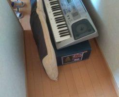 【高松市国分寺町】キーボード、収納棚などの回収・処分 お客様の声