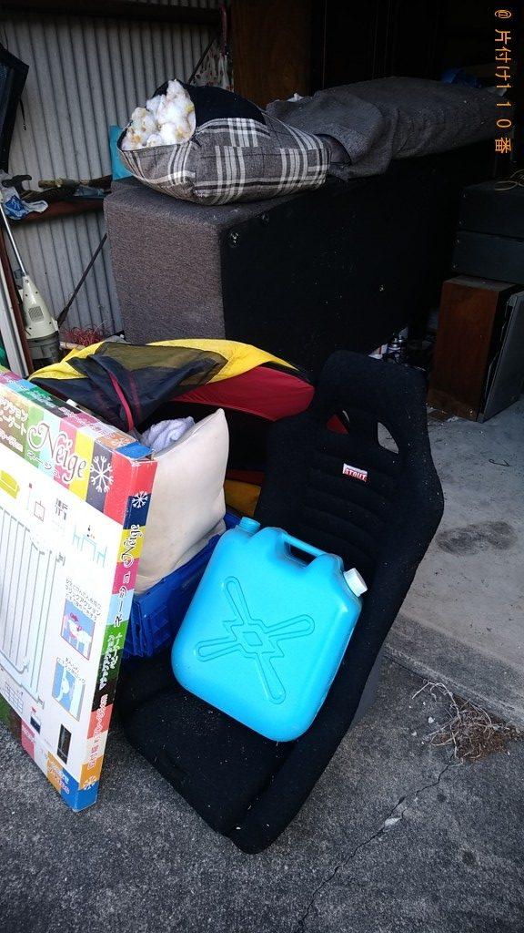 【善通寺市吉原町】軽トラック1台程度の出張不用品の回収・処分
