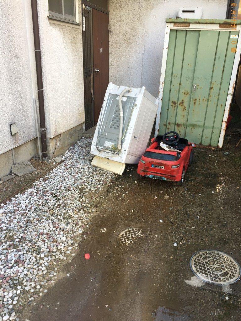 【丸亀市土器町】洗濯機、ラジコンカーの回収・処分ご依頼