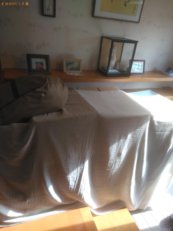 【高松市国分寺町】布団、雑誌、本、分別なし衣類の回収・処分ご依頼