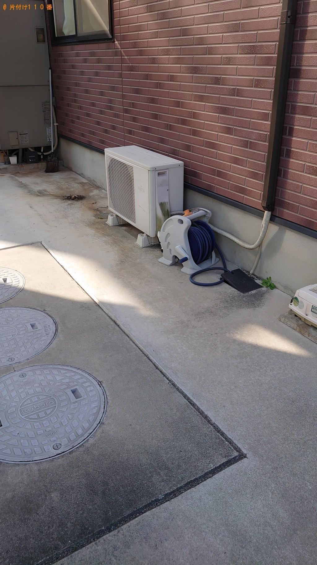 【高松市香西北町】テレビ、掃除機、ダブルベッド等の回収・処分