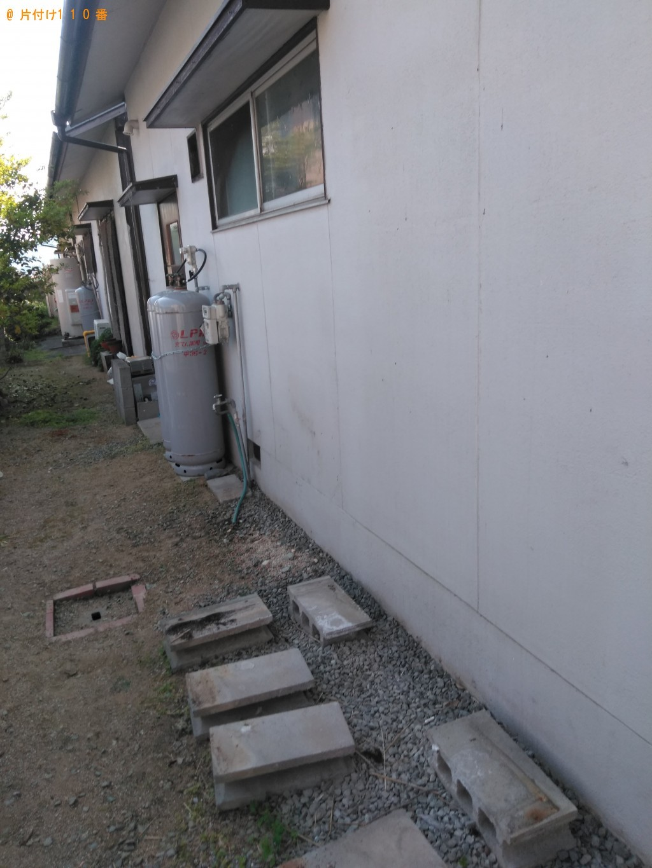 【丸亀市川西町】スチール物置、本棚、タンス、食器棚等の回収・処分