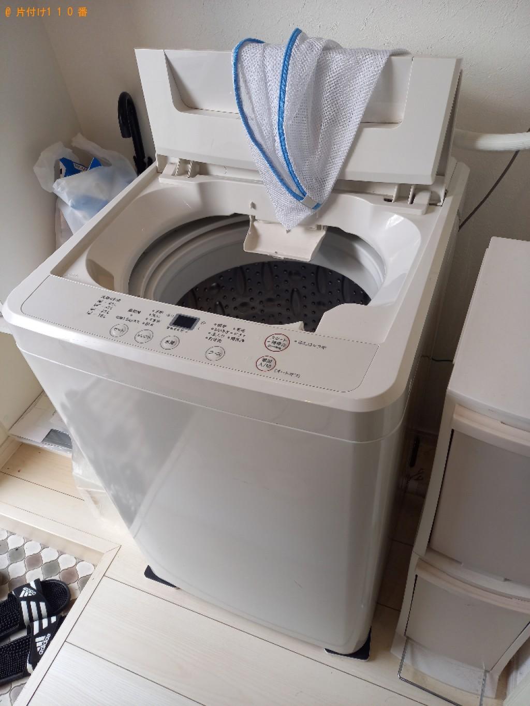 【高松市】冷蔵庫、洗濯機、業務用机、電子レンジの回収・処分ご依頼