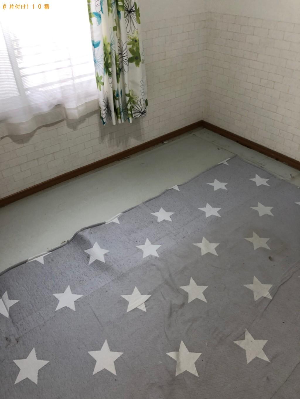【高松市】シングルベッド(マットレス付)の回収・処分ご依頼