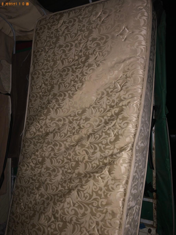 【高松市】シングルベッドマットレスの回収・処分ご依頼 お客様の声