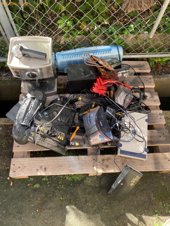 【高松市】小型家電の回収・処分ご依頼 お客様の声