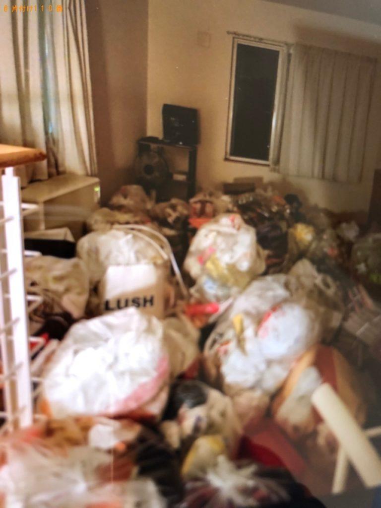 【高松市】一般ごみの回収とハウスクリーニングご依頼 お客様の声