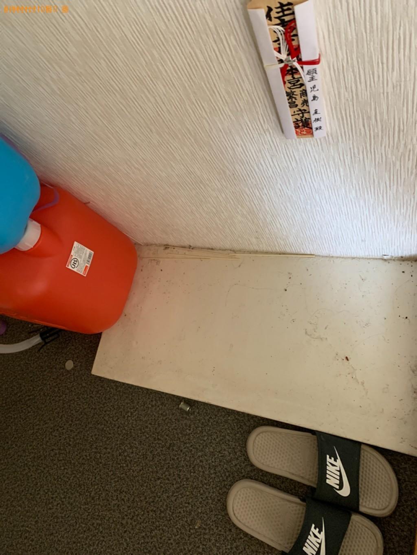 【高松市】シングルベッドマットレス、二人掛けソファーの回収・処分