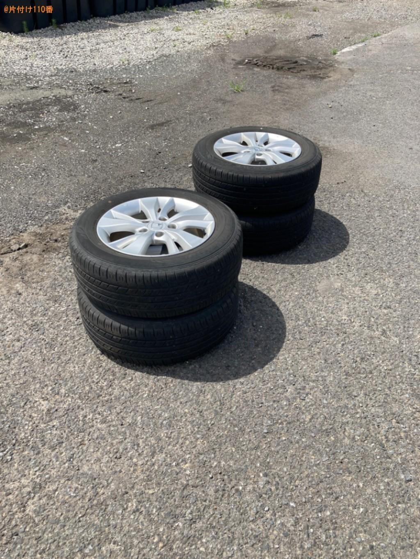 自動車タイヤの回収・処分ご依頼 お客様の声